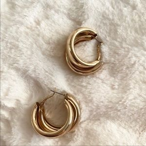 8 Other Reasons Gold Coupled Hoops